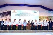 Hình ảnh Thủ tướng dự Lễ khởi công dự án chăn nuôi bò và chế biến sữa