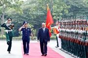 Thủ tướng Nguyễn Xuân Phúc làm việc với Bộ Tư lệnh Cảnh sát biển