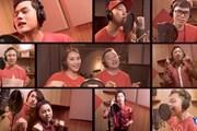 """Hơn 150 nghệ sỹ, doanh nhân, bác sỹ tham gia MV """"Việt Nam ơi-Vững tin"""""""