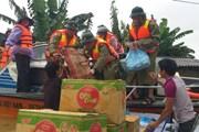 Quảng Bình: Hàng chục tấn hàng cứu trợ được khẩn trương đến với dân