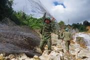 [Photo] Thủy điện Rào Trăng 3: Quyết tâm vượt khó tìm kiếm nạn nhân