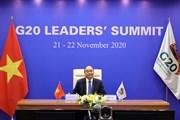 [Photo] Thủ tướng Nguyễn Xuân Phúc dự Hội nghị thượng đỉnh G20