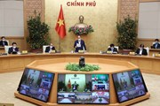 Thường trực Chính phủ họp trực tuyến về đổi mới quản lý kinh tế