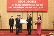 """Hà Nội trao tặng Danh hiệu """"Thầy thuốc Nhân dân, Thầy thuốc Ưu tú"""""""