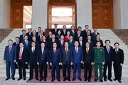 Lễ bàn giao công việc của Thủ tướng và công bố quyết định bổ nhiệm