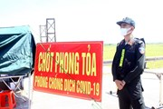 """[Photo] Nghệ An: """"Vượt nắng"""" nơi tuyến đầu chống dịch COVID-19"""