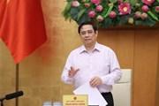 Thủ tướng họp với tỉnh Kiên Giang và Tiền Giang về phòng, chống dịch