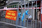 Hà Nội: Phong tỏa một số hộ dân ở phố Trần Nhân Tông vì có ca F0