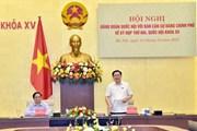 Hình ảnh hội nghị giữa Đảng đoàn Quốc hội, Ban Cán sự Đảng Chính phủ