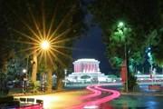 [Photo] Lung linh vẻ đẹp bình yên của mùa Thu Hà Nội vào buổi tối