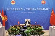 Hình ảnh Thủ tướng dự Hội nghị cấp cao ASEAN-Trung Quốc