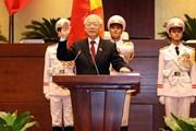 Tổng Bí thư Nguyễn Phú Trọng được Quốc hội bầu giữ chức Chủ tịch nước
