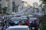 Hà Nội: Thông đường vành đai 2, Ngã Tư Sở ùn tắc... nghiêm trọng hơn