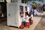 Cận cảnh 'vũ khí' chống nóng mới cho bác sỹ chống dịch tại Bắc Giang