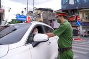 Hà Nội tăng cường xử phạt các trường hợp ra đường không chính đáng