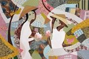 [Photo] 'Tôi vẽ giấc mơ': Hô biến vải vụn thành tác phẩm hội họa