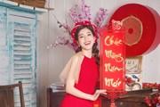 Quán quân Giọng hát Việt Ngọc Ánh đẹp dịu dàng với áo dài cách tân