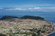 Sững sờ trước vẻ đẹp nên thơ của đảo Lý Sơn-Quảng Ngãi từ trên cao