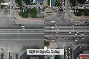 Hình ảnh đường phố Hà Nội trước và sau khi thực hiện Chỉ thị 17