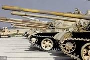 Kinh ngạc trước kho xe tăng súng đạn phiến quân nộp cho quân đội Syria
