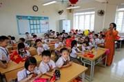 Thiếu phòng học, Hà Nội xin cơ chế riêng để nâng tầng các trường
