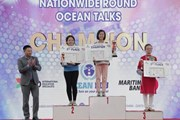Học sinh Hà Nội giành giải nhất thi tiếng Anh IELTS circle of champion