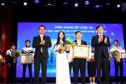Thực phẩm chức năng của học sinh Việt giành giải Nhất thi khởi nghiệp