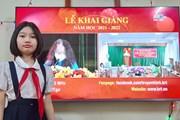 Xúc động hình ảnh học sinh dự lễ khai giảng qua sóng truyền hình