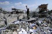 Toàn cảnh chiến dịch không kích của Mỹ, Anh, Pháp vào Syria
