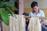 [Photo] Nghề ươm tơ, dệt lụa làng Cổ Chất nổi danh ở đất thành Nam