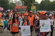 [Photo] Hàng trăm người đi bộ hưởng ứng ngày Quyền của người tiêu dùng