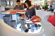 [Photo] Rực rỡ hơn 1200 gian hàng tại Triển lãm Bất động sản quốc tế