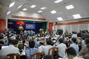 [Photo] Cử tri TP.HCM bức xúc về Dự án Khu Đô thị mới Thủ Thiêm