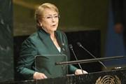 Bà Bachelet được bầu làm người đứng đầu cơ quan nhân quyền LHQ