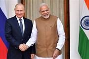 [Mega Story] Quan hệ Nga-Ấn Độ và thước đo lòng tin chiến lược