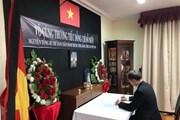 ĐSQ Việt Nam tại Chile tổ chức lễ viếng nguyên Tổng Bí thư Đỗ Mười