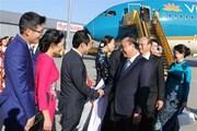 Thủ tướng Nguyễn Xuân Phúc đến Vienna, bắt đầu thăm chính thức Áo