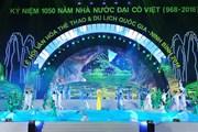 Lễ hội văn hóa, thể thao và du lịch quốc gia Ninh Bình 2018