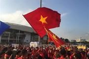 Sân Mỹ Đình rực sắc đỏ trước cuộc đại chiến Việt Nam vs Malaysia