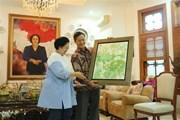 Đại sứ Việt Nam tại Indonesia chào xã giao nguyên Tổng thống Indonesia