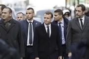 Tổng thống Pháp Emmanuel Macron sắp phát biểu công khai với người dân