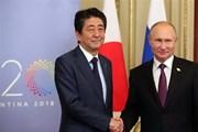 Nhật Bản tìm kiếm sự ủng hộ của Mỹ cho cuộc hòa đàm với Nga