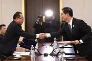 Hàn-Triều họp tại văn phòng liên lạc bàn về các vấn đề xuyên biên giới