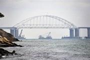 Tổng thống Putin cho phép các chuyên gia Đức giám sát Eo biển Kerch