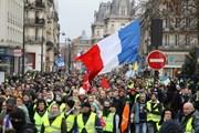 Biểu tình Áo vàng tại Pháp tiếp diễn tuần thứ 10 liên tiếp