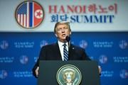 Hình ảnh buổi họp báo sau Hội nghị thượng đỉnh Mỹ-Triều lần hai