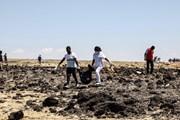 Hình ảnh hiện trường tai nạn máy bay thảm khốc của Ethiopian Airlines
