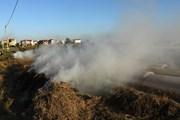 Cận cảnh hoạt động đốt rơm, rác gây ảnh hưởng xấu tới môi trường