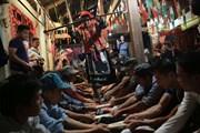 Hình ảnh độc đáo Lễ Tẩu sai của dân tộc Dao Tiền ở Cao Bằng