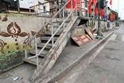Những hình ảnh về con đường gốm sứ đang kêu cứu ở Hà Nội